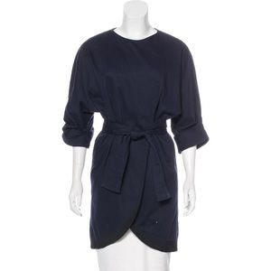 Timo weiland knee length wrap coat